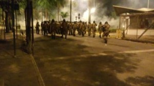PM-MG invade UFMG